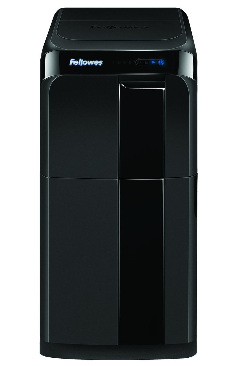 Fellowes AutoMax 500C autofeed paper shredder with SureFeed Technology