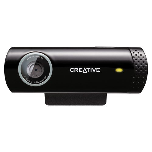 Creative Live! Cam Chat HD, 5.7MP Webcam (Black)