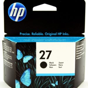 HP 27 - Black Inkjet Print Cartridge (C8727AE)