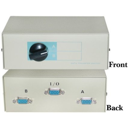 CableWholesale Manual VGA Switch (40H1-03602)