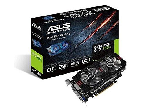 ASUS GeForce GTX 750Ti GDDR5 2GB Graphics Card GTX750TI-OC-2GD5