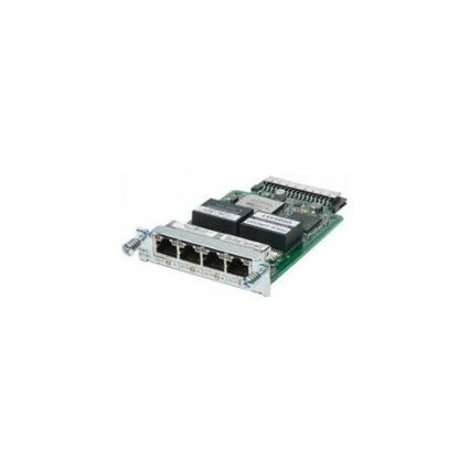Cisco HWIC-4T1/E1 4-Port T1/E1 High-Speed WAN HWIC Interface Card