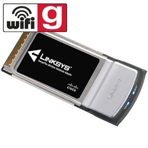Wireless-G PC Card with Range Plus 802.11g