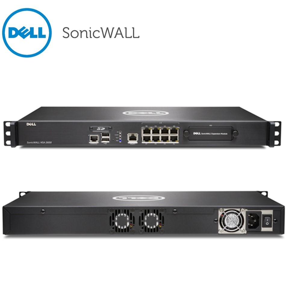 Dell SonicWALL NSA 2600 TotalSecure - security appliance