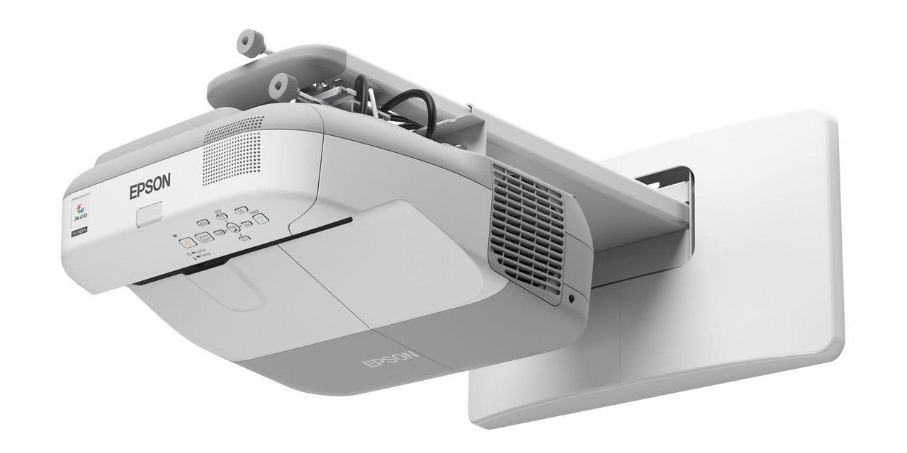 Epson EB-585W 3300 ANSI Lumens WXGA Ultra Short Throw Projector for classroom