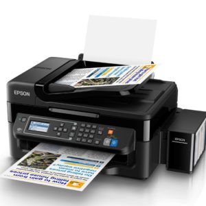 Epson L565  Multi-function printer with integrated ink tanks for fast ,cost-effective and reliable colour printing, copying, scanning and faxing