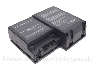 12-Cell 6600mAh Dell inspiron 9100 battery