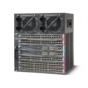 cisco Cat4500 E-Series 7-Slot Chassis, fan, no ps, Red Sup Capable