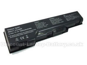 4400mAh Dell XPS m1530 battery 1