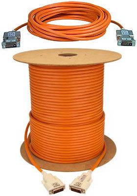 NTI DVI-D Fiber Optic extension cable male-male, 164 feet
