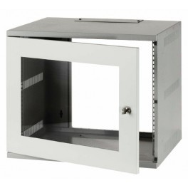 Compact 12u wall mounted data cabinet