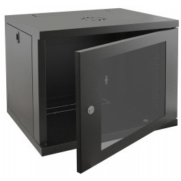 Compact 9u 450mm Deep Wall Mounted Data Cabinet