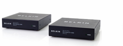 Belkin Monitor/Serial Extended 1 : 1-VGA+RS232 CAT5E 30M TX+RX