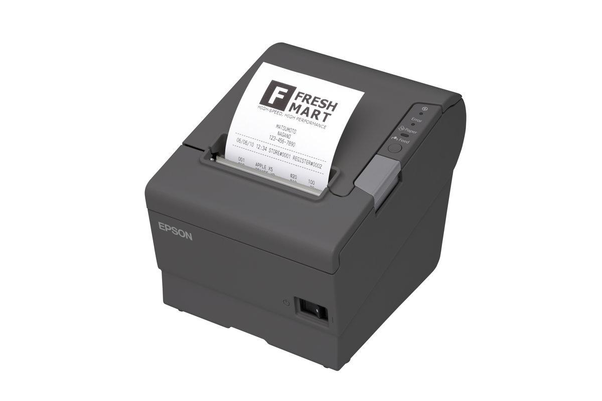 EPSON C31CA85236 TM-T88V Monochrome Receipt Printer with ETHERNET Connectivity