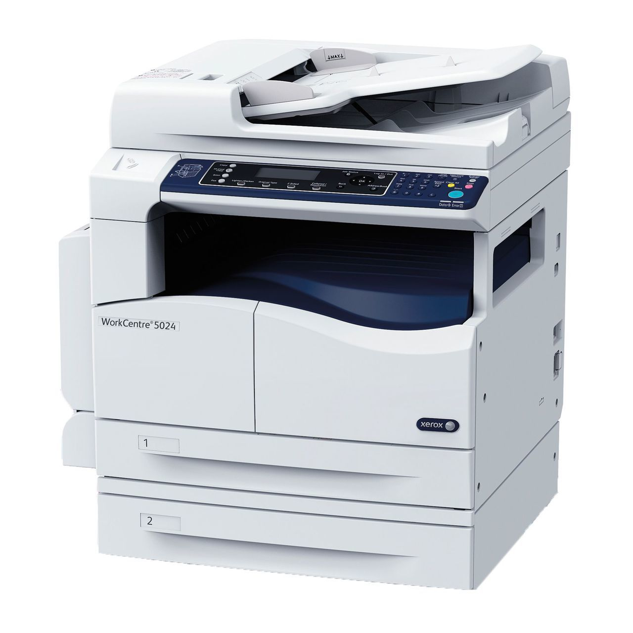Xerox WorkCentre™ 5024 Multifunction monochrome laser printer with Print Scan Copy & optional Fax