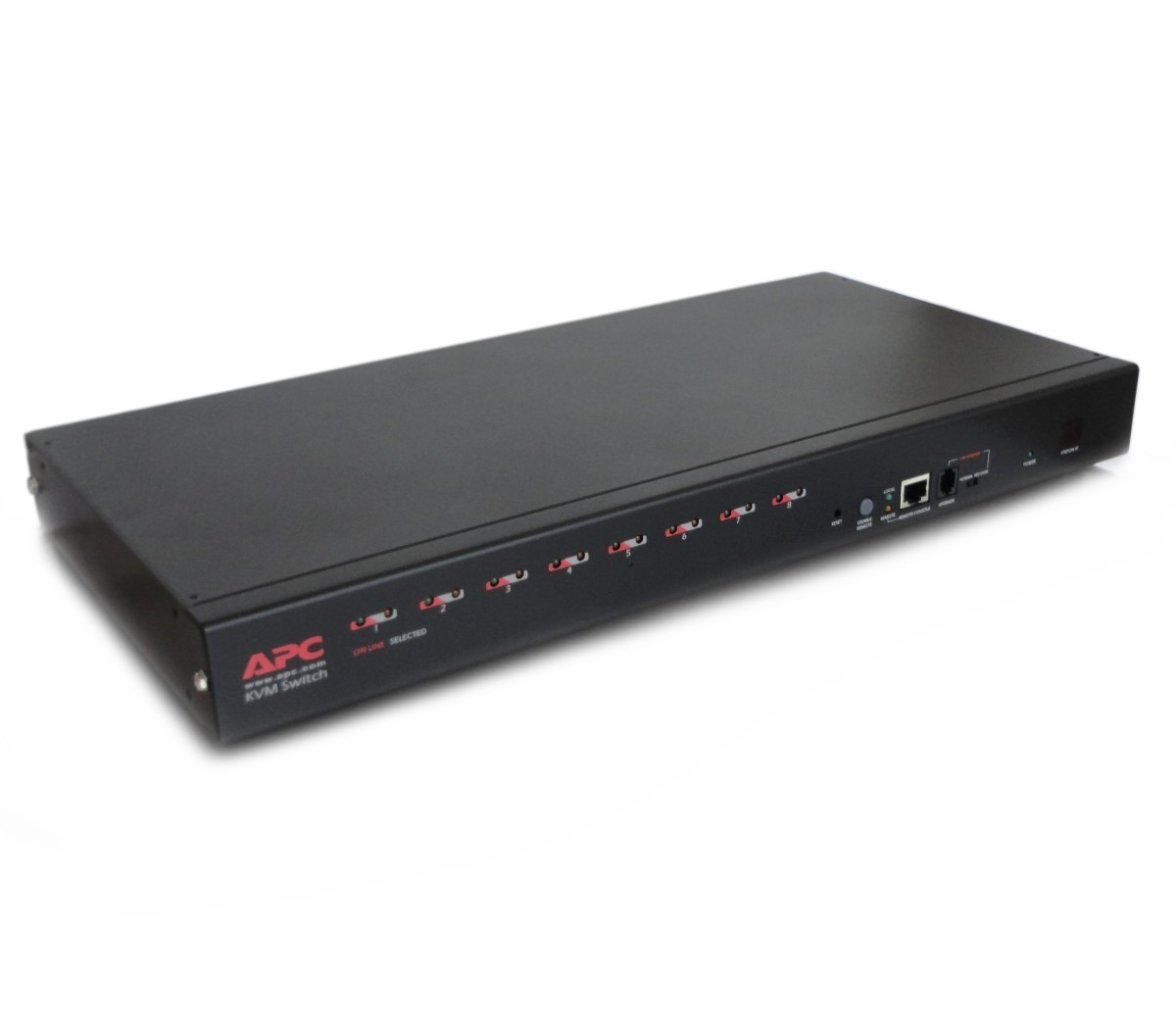 APC AP5201 8-Port Multi-Platform Analog KVM Switch