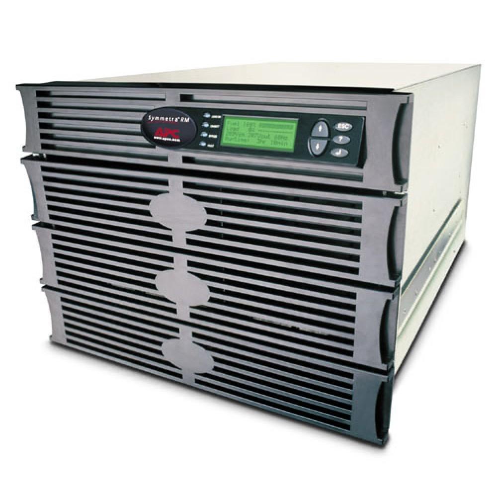 APC SYMMETRA RM 6kVA SCALABLE TO 6kVA N+1 220-240V 4200 WATT EXTENDED RUNTIME 8U SYH6K6RMI