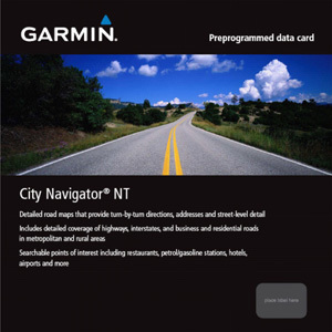 Garmin City Navigator Singapore And Malaysia NT