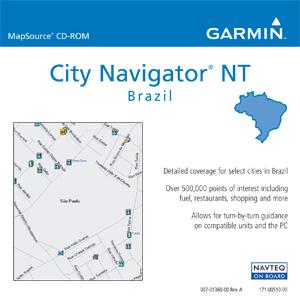 Garmin City Navigator Brazil NT