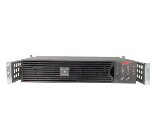 APC SURT2000RMXLI - Smart-UPS RT, 2000VA / 1400W, Input 230V/Output 230V, Interface Port DB-9 RS-232, SmartSlot, Extended runtime model, Rack Height 2 U