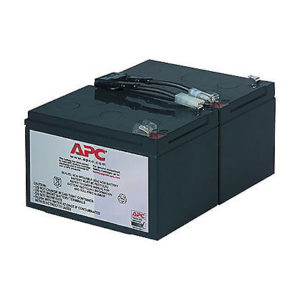APC RBC6 UPS Replacement Battery Cartridge for SMC1500, SMT1000 and SUA1000