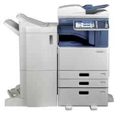Toshiba e-STUDIO4555C 45 PPM Color/ B&W Multifunction Net-Ready Copy, Print, Scan, Fax Printer
