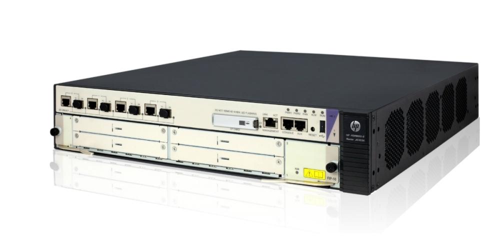 HP Enterprise HSR6602-G - Router - 4-port switch - GigE - rack-mountable