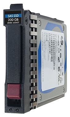 HP 400-GB 2.5 SAS 6G MLC Small Form Factor Solid State Drive