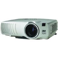 3M X80, LCD, 4500 lumens, XGA