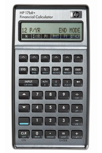 HP 17 BII+ Financial Calculator