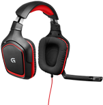 G230 Stereo Gaming Headset Comfortable gaming audio and communications, simplified.