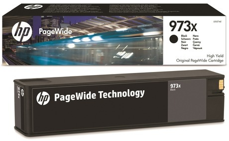 HP 973X High Yield Black Original PageWide Cartridge for 452DW & 477DW (L0S07AE)