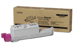 Xerox 106R01219 Magenta High Capacity Toner Cartridg Phaser 6360