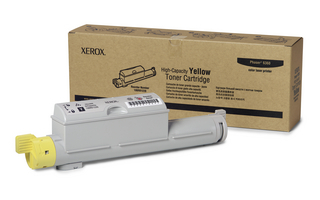Xerox 106R01220 Yellow High Capacity Toner Cartridge Phaser 6360