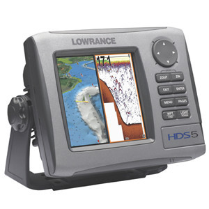 Lowrance HDS - 5 Fishfinder/GPS Chartplotter