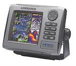 Lowrance HDS - 5 83/200 Khz Fishfinder