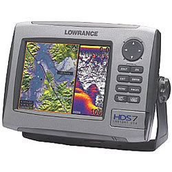 Lowrance HDS - 7 Fishfinder/GPS Chartplotter
