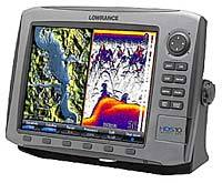 Lowrance HDS - 10 Multifunction Fishfinder/GPS Chartplotter