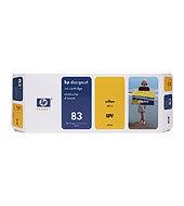 HP 83 680-ml Yellow UV Ink Cartridge C4943A