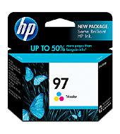 HP 97 Tri-color Inkjet Print Cartridge C9363WA