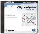 Garmin City Navigator Middle East Software on CD