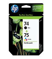 HP 74/75 Combo-pack Inkjet Print Cartridges CC659FN