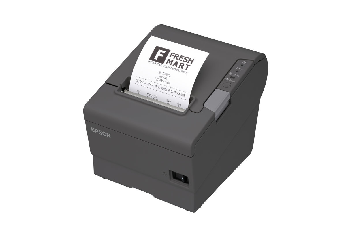 EPSON TM-T88V (082): SERIAL, PS, EDG ENERGY STAR® RECEIPT PRINTER