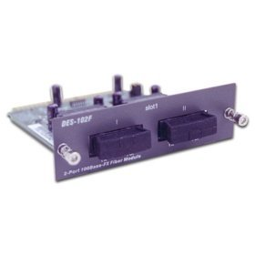 2port 100 Base Fx Module for DES-1016R+/DES-1024R_
