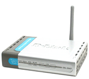 ADSL2/2+ Wireless ADSL Router with built-in 4-port10/100Mbps Swi