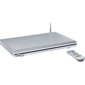 Wireless 11g 54Mbps Media Player with built-in DVD Drive, 5-in-1