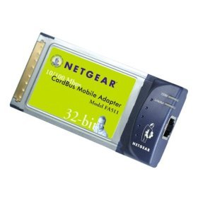 Netgear 10/100 Fast Laptop Card