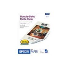 "Epson Double-Sided Matte Paper, 8.5"" x 11"", 50 Sheets"
