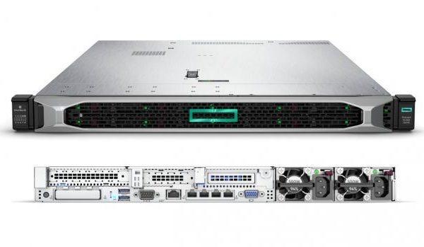 HPE Proliant DL360 Gen10 3106 1P 1 7GHz 8Core 16GB 2x300G SAS 10K P408i-a  8SFF DVD-RW 500W PS Entry Level Server